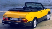 "1991 SAAB 900 ""Bumblebee"" Special Edition Convertible - Euro"
