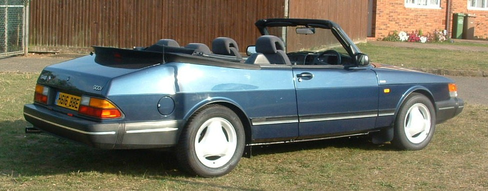 saab 900 alloy wheels. SAAB 900 Classic Convertible