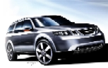 SAAB 9-7x concept drawing